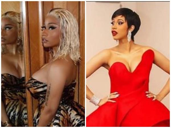 Nicki Minaj, Cardi B (Picture Courtesy: Instagram)