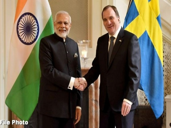 Prime minister Narendra Modi and his Swedish counterpart Stefan Lofven