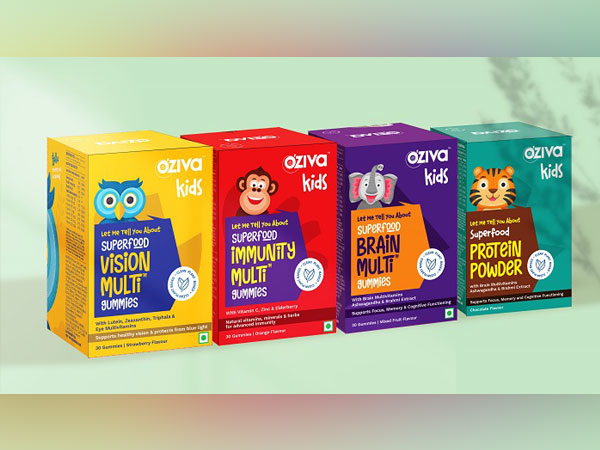 OZiva launches Superfood Kids range to bridge the gap of clean nutrition for growing children