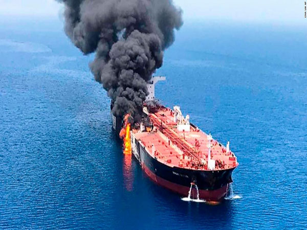 Being blamed for the oil tanker attack suits Iran just fine