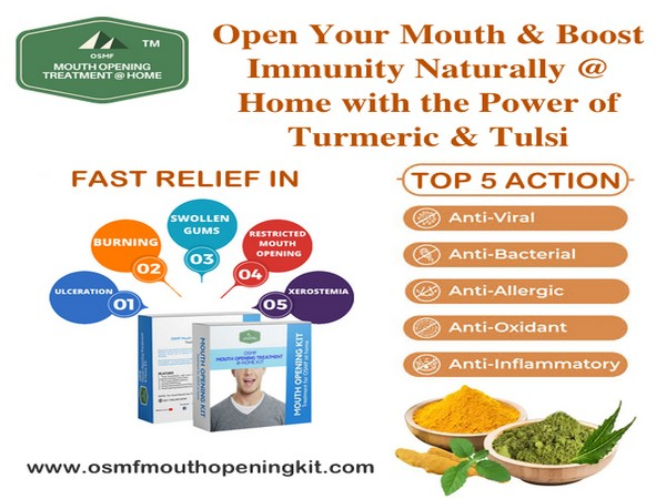 How to boost immunity naturally and open restricted mouth while working from home by Mouth Opening Kit