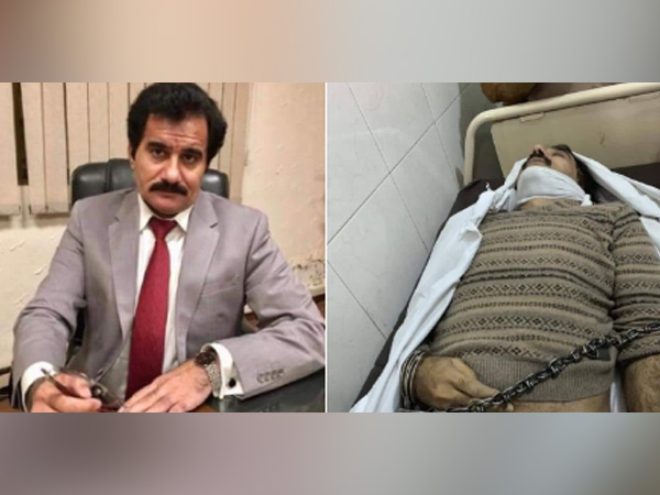 Pak faces flak after handcuffed picture of dead professor goes viral