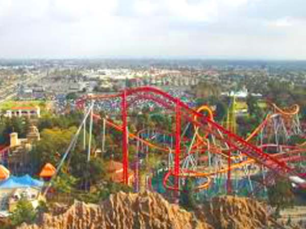 Busch Gardens Theme Park Train Catches Fire in Virginia