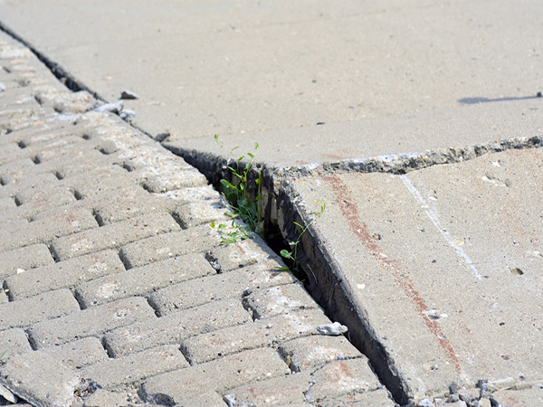 Neglected, uneven sidewalk surrounding Richmond school to be replaced after classes begin