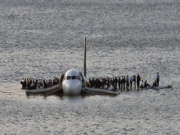 Florida plane crash: Boeing 737 skids off runway at Jacksonville military base and into river
