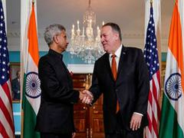 External Affairs Minister S Jaishankar with US Secretary of State Michael Pompeo (File photo)