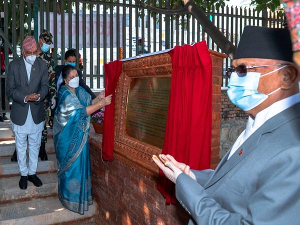 """Nepal President Bidhya Devi Bhandari inaugurated the reconstructed """"Rani Pokhari"""""""