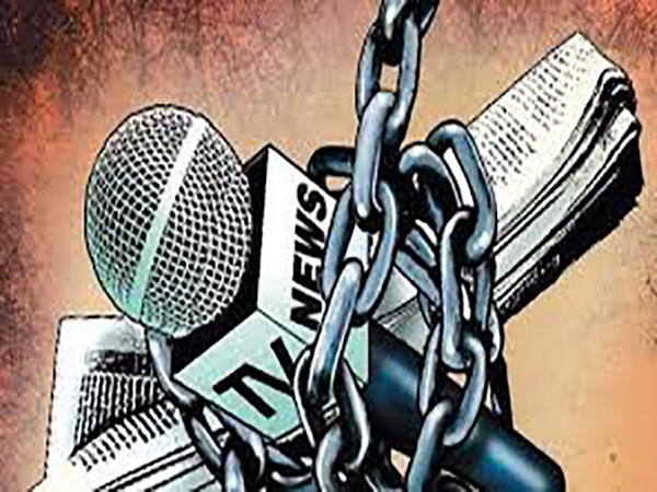 'Govt invoking reasonable restriction provision to curtail press freedom'