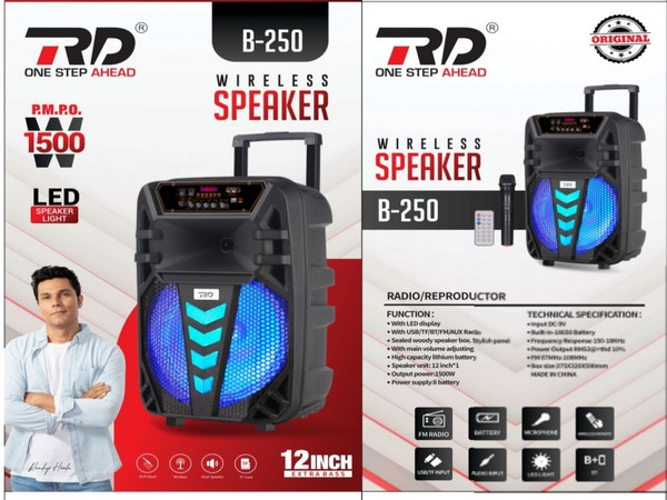RD Accessories launches a wide variety of new portable wireless speakers