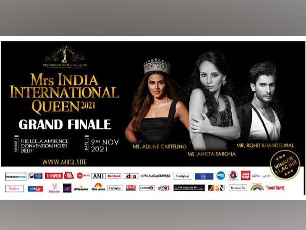Mrs India International Queen 2021 Grand Final on November 7, 8 & 9