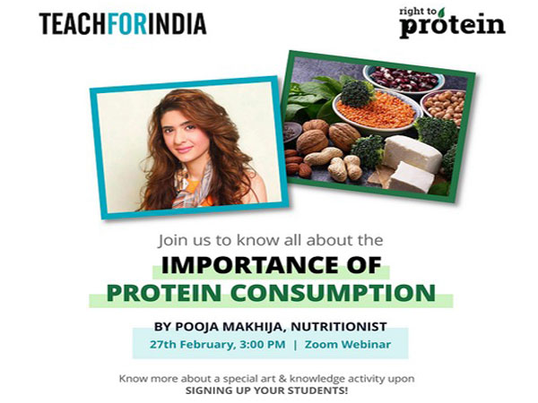 Protein Day 2021: Teach For India collaborates with Right To Protein to increase protein awareness among school children