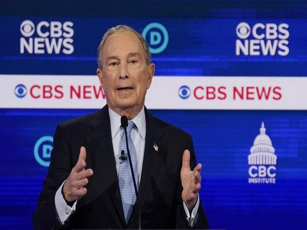 Democratic US presidential candidate and former New York City Mayor Mike Bloomberg during the debate on Tuesday.