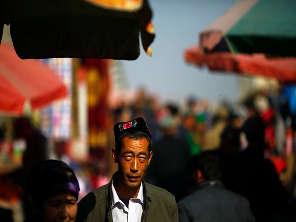 An Uyghur man in Xinjiang in northwestern China (File photo)