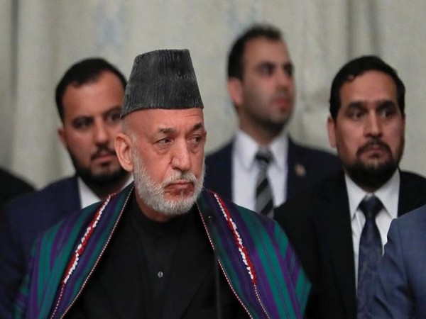 Former Afghan president Hamid Karzai meets ailing Nawaz Sharif in London