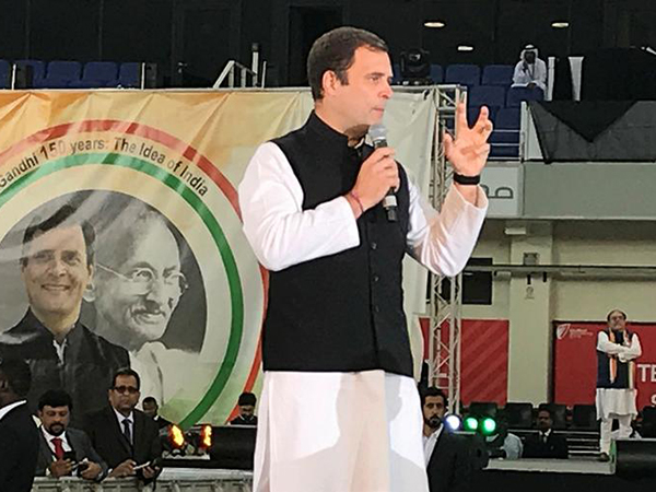 Rahul Gandhi strikes a chord with Indians in UAE