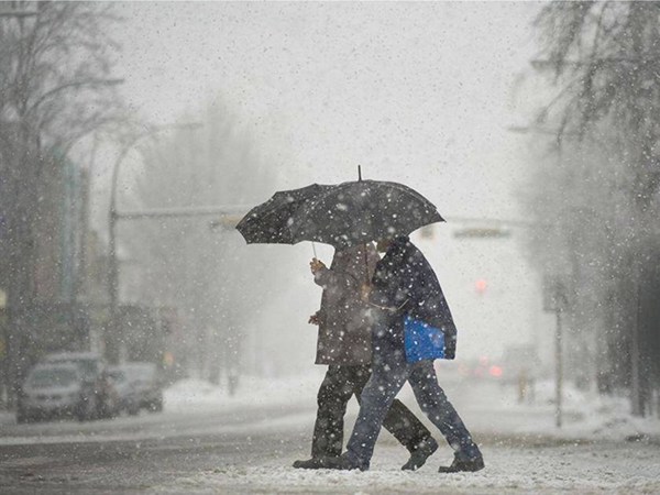 Vancouver Weather: Rainy, wet snow over higher elevations