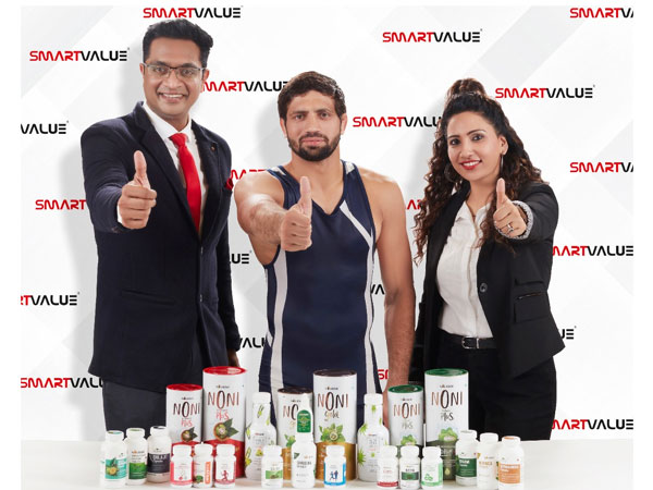Ravi Kumar Dhaiya, Silver Medalist at the Tokyo Olympics to become the face of Smart Value Limited