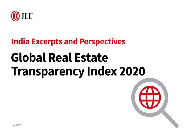 JLL's latest Global Real Estate Transparency Index shows significant improvement in India