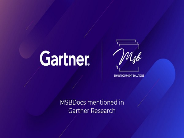 MSB Docs featured in Gartner Market Guide for Electronic Signatures