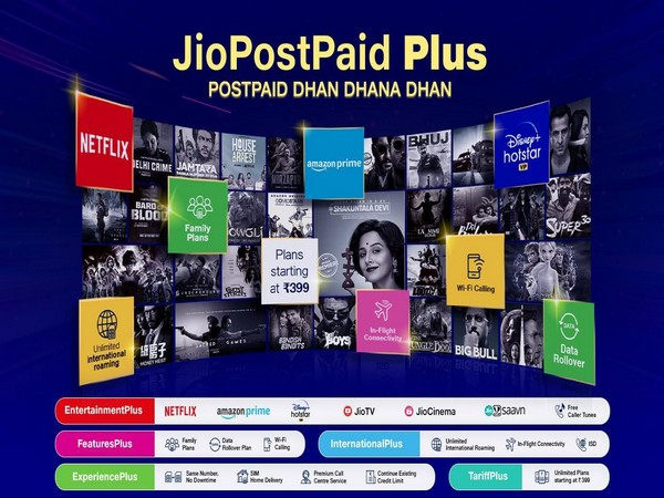 Jio announces new post-paid plus plans starting Rs 399