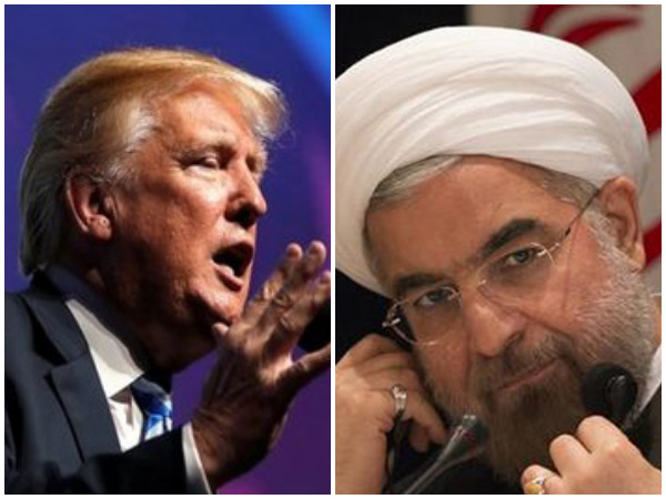 Donald Trump, Hassan Rouhani