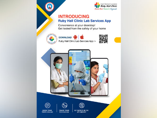 Ruby Hall Clinic launches its own Lab Services Application