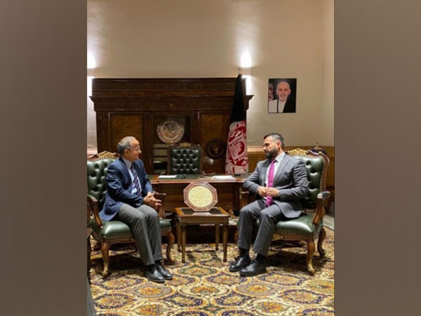 Afghan deputy FM meets new Indian ambassador Rudrendra Tandon