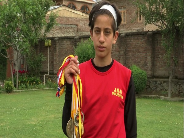 The young martial arts player has already participated in national competitions held in Jammu, Ludhiana and other cities.