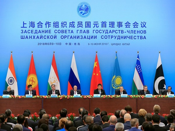 Shanghai Cooperation Organization (SCO) summit in Qingdao, Shandong Province, China June 10, 2018. (Photo Credit: REUTERS)