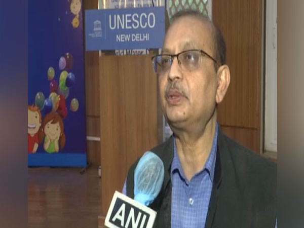 Rajiv Ranjan Mishra, Director General, National Mission for Clean Ganga speaking with ANI on Monday.