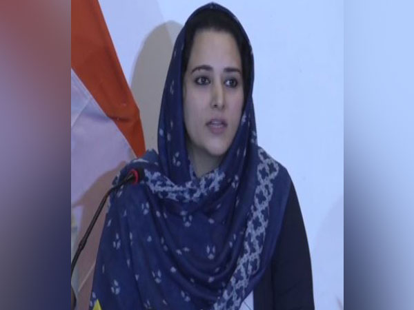 SS Asgar, Director of Information and Public Relations, J-K, addressing a press conference in Srinagar on Wednesday. Photo/ANI