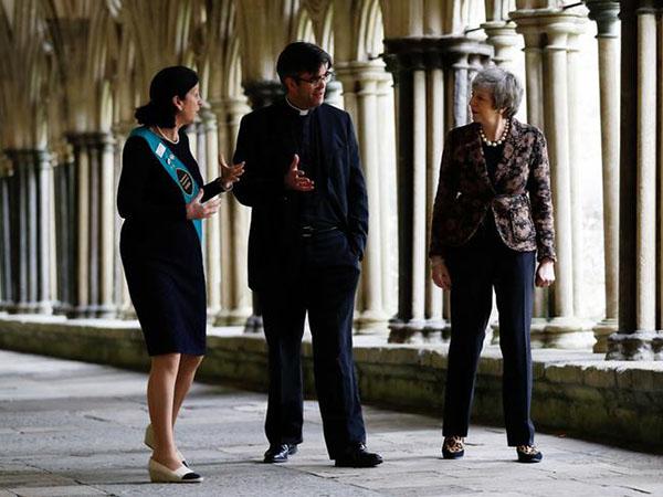 "UK's May praises Salisbury on anniversary of Skripal poisoning as Russia ""debunks"" investigation"