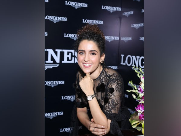 Longines celebrates its master collection with renowned actress Sanya Malhotra
