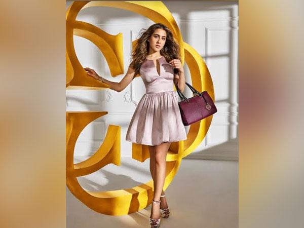 Actress Sara Ali Khan is the Brand Ambassador for 'CERIZ'