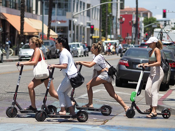 Los Angeles lawmakers vote to allow scooters-but with limits