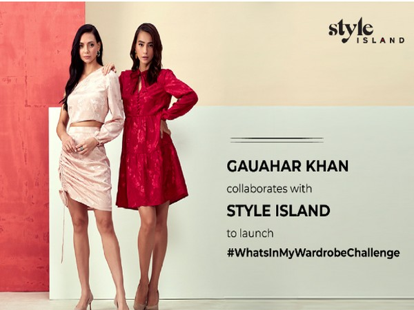 Gauahar Khan collaborates with style Island for its latest campaign #WhatsInMyWardrobeChallenge