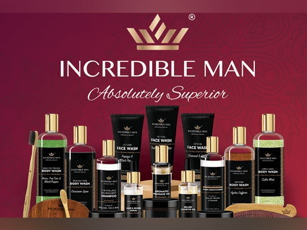 The brand 'Incredible Man' launched its website with incredible festive season offers