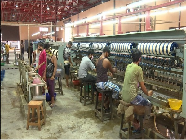 Sericulture in Jammu and Kashmir will get a boost with new silk weaving factory in Samba. Photo/ANI