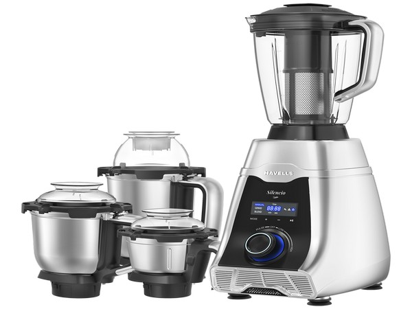 Havells marks its entry into the premium appliance segment, launches Silencio - a low noise mixer grinder