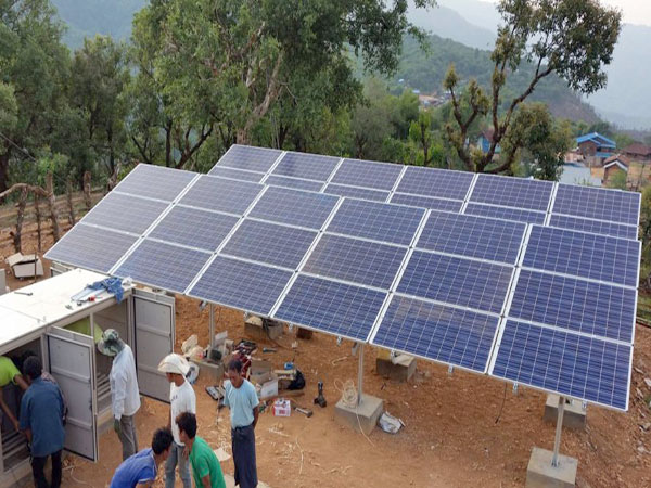 Magwe aims to meet country's power needs through solar energy