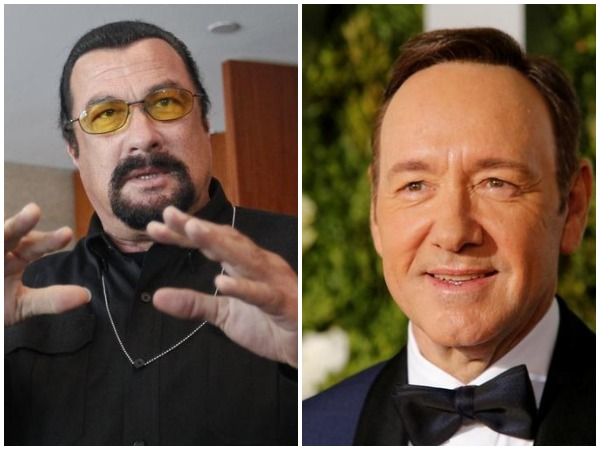 Los Angeles prosecutors reject sex abuse cases involving Kevin Spacey, Steven Seagal