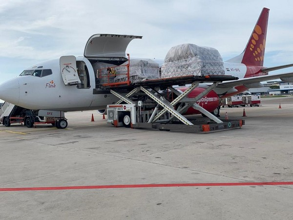The airline will operate a second freighter flight on Friday carrying medical supplies