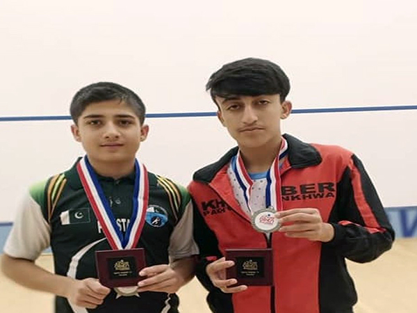 Pakistan bag two silver medals in US Jr Squash