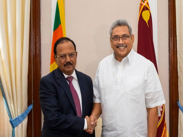 Sri Lankan President Gotabaya Rajapaksa met National Security Advisor (NSA) Ajit Doval in Colombo on Saturday