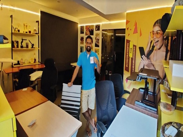 Srikanth Acharya, CEO, at TheHomeOffice.in Experience Centre