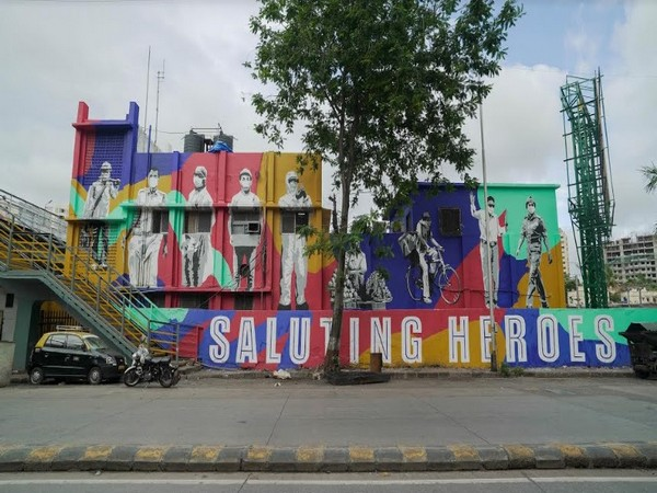 Asian Paints and Start India salute Mumbai's frontline heroes with murals