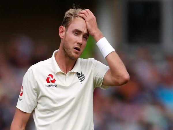 England pacer Stuart Broad
