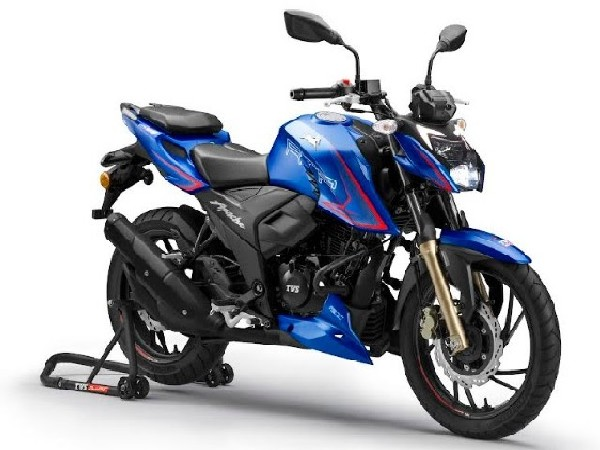 TVS Motor Company launches the new TVS Apache RTR 200 4V in Nepal