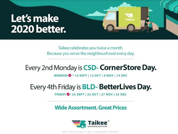 Taikee's 'CornerStore & BetterLives Days' to amplify small retailers business