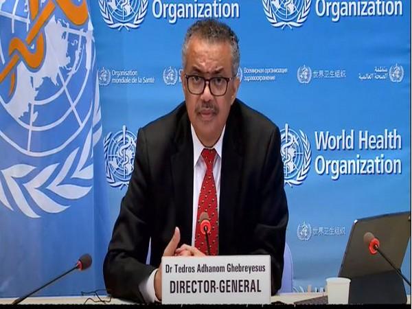 World Health Organisation Director-General Tedros Adhanom Ghebreyesus